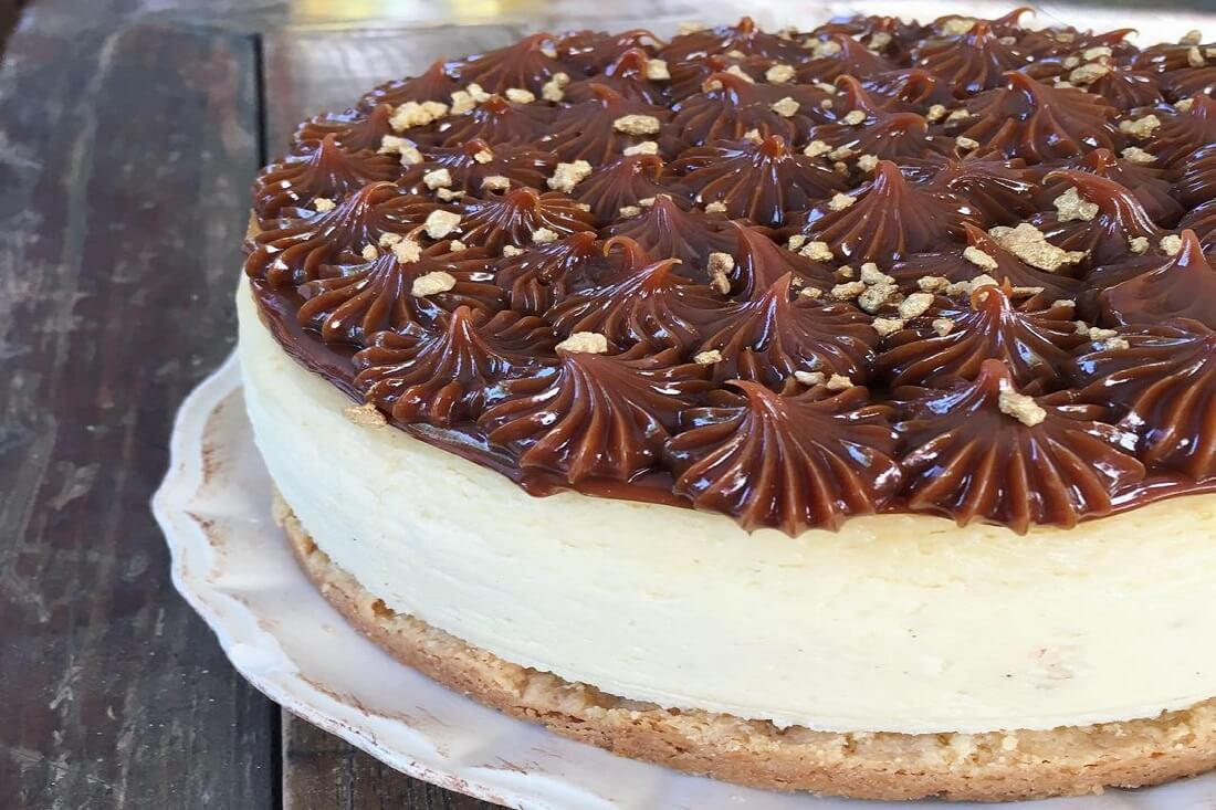 Cheesecake dulce de leche TABATHA PASTELERIA MADRID