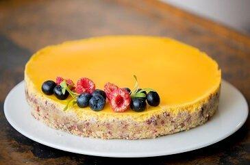 Pasteleria creativa de autor con linea vegana en Madrid tarta saludable