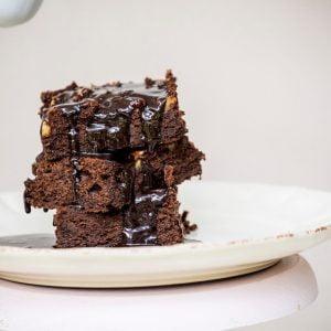 brownie con nueces TABATHA PASTELERIA MADRID